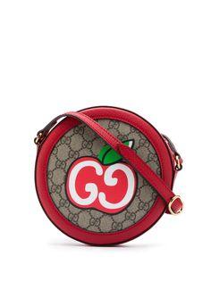 Gucci сумка через плечо с принтом GG Apple