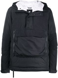 Nike пуховик с накладным карманом