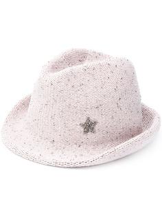 Lorena Antoniazzi шляпа с кристаллами