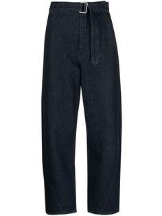 Levis: Made & Crafted укороченные джинсы с поясом