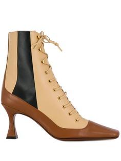 Manu Atelier ботинки на шнуровке