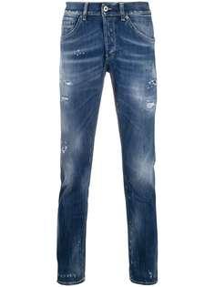 Dondup джинсы кроя слим с эффектом потертости