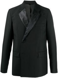 Acne Studios двубортный пиджак с контрастными лацканами