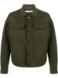 Acne Studios укороченная куртка на пуговицах