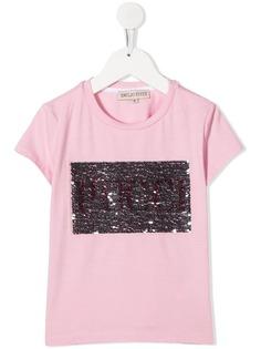 Emilio Pucci Junior футболка с пайетками