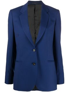 Paul Smith однобортный блейзер A Suit To Travel