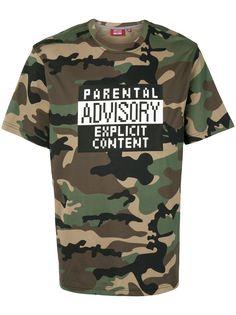 Mostly Heard Rarely Seen 8-Bit футболка Parental Advisory