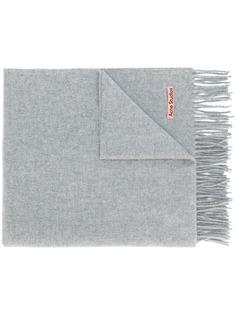 Acne Studios объемный шарф с бахромой