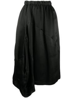 Comme Des Garçons Comme Des Garçons юбка миди асимметричного кроя с драпировкой