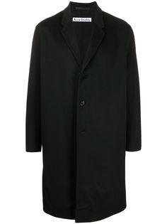 Acne Studios однобортное пальто