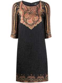 Etro платье-трапеция длины мини