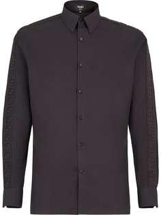 Fendi рубашка с логотипом FF
