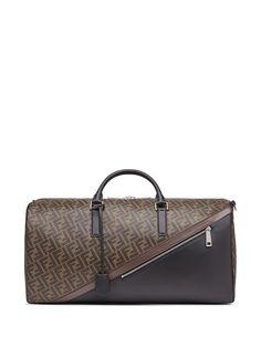 Fendi дорожная сумка с логотипом FF