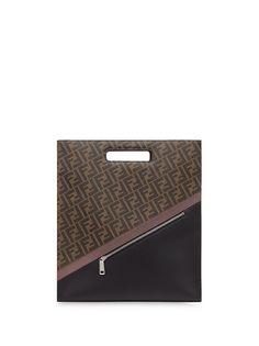 Fendi сумка-тоут с монограммой