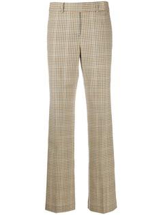 Michael Michael Kors клетчатые брюки прямого кроя