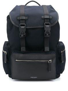 Giorgio Armani рюкзак с карманами и пряжками