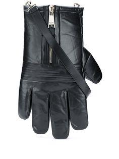 Moschino сумка на плечо в форме перчатки