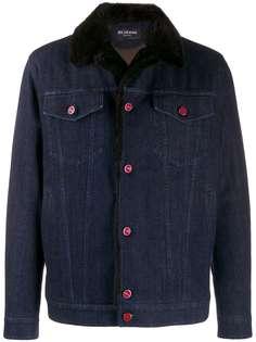 Kiton джинсовая куртка узкого кроя