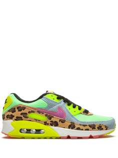 Nike кроссовки Air Max 90 LX Denim Leopard Print