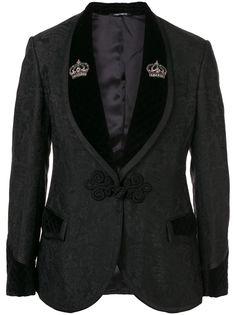 Dolce & Gabbana жаккардовый костюм-двойка с цветочным узором
