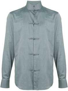 Shanghai Tang куртка-рубашка с закругленным подолом
