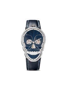 Fiona Kruger наручные часы Petit Skull в форме черепа с бриллиантами