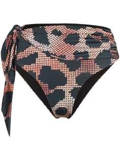 Agent Provocateur плавки бикини Hester с леопардовым принтом