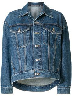 Alexander Wang джинсовая куртка на пуговицах