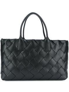 Bottega Veneta большая сумка-тоут с плетением Intrecciato