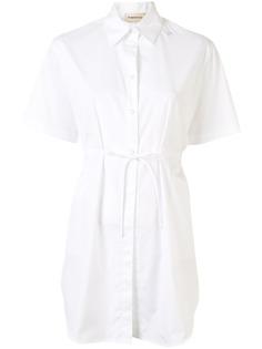 PortsPURE рубашка с короткими рукавами и поясом