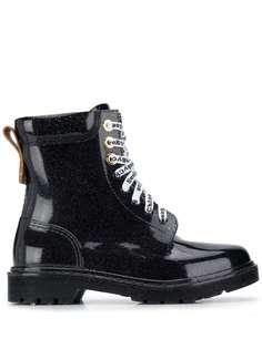 See by Chloé лакированные ботинки на шнуровке