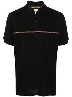 Paul Smith рубашка поло с контрастной полоской