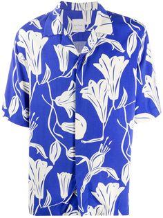 Paul Smith рубашка Floral Cutout с короткими рукавами