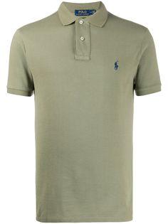Polo Ralph Lauren рубашка поло с вышитым логотипом