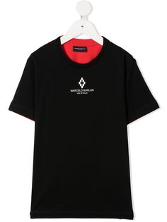 Marcelo Burlon County Of Milan Kids футболка с логотипом