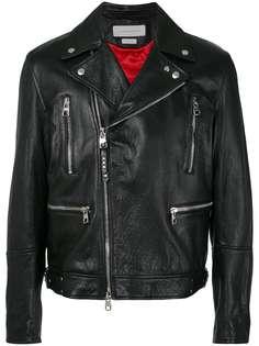 Alexander McQueen байкерская куртка