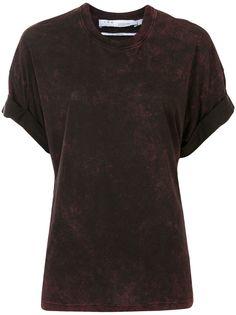 IRO футболка с эффектом потертости