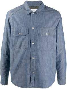 Closed куртка-рубашка из ткани шамбре