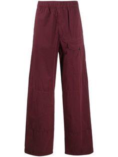 Acne Studios прямые брюки средней посадки