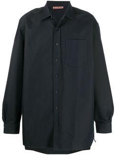 Acne Studios твиловая рубашка
