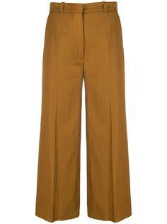Kenzo укороченные брюки прямого кроя
