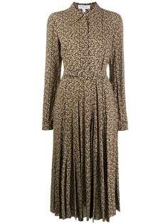 Michael Kors Collection платье миди с абстрактным принтом