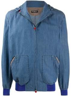 Kiton джинсовая куртка на молнии