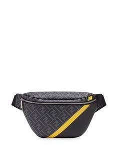 Fendi поясная сумка с логотипом FF