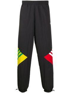 adidas спортивные брюки с контрастными вставками