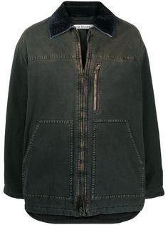 Acne Studios куртка с эффектом потертости