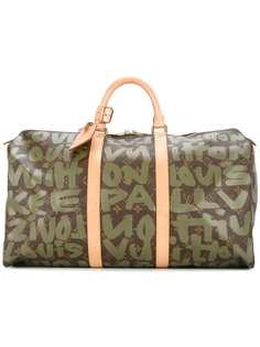 Louis Vuitton сумка с принтом Keepall 50