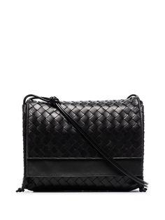 Bottega Veneta сумка на плечо среднего размера с плетением Intrecciato