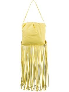 Bottega Veneta сумка на плечо The Fringe Pouch