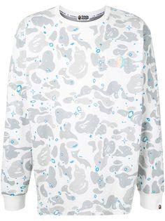 A BATHING APE® футболка с камуфляжным принтом